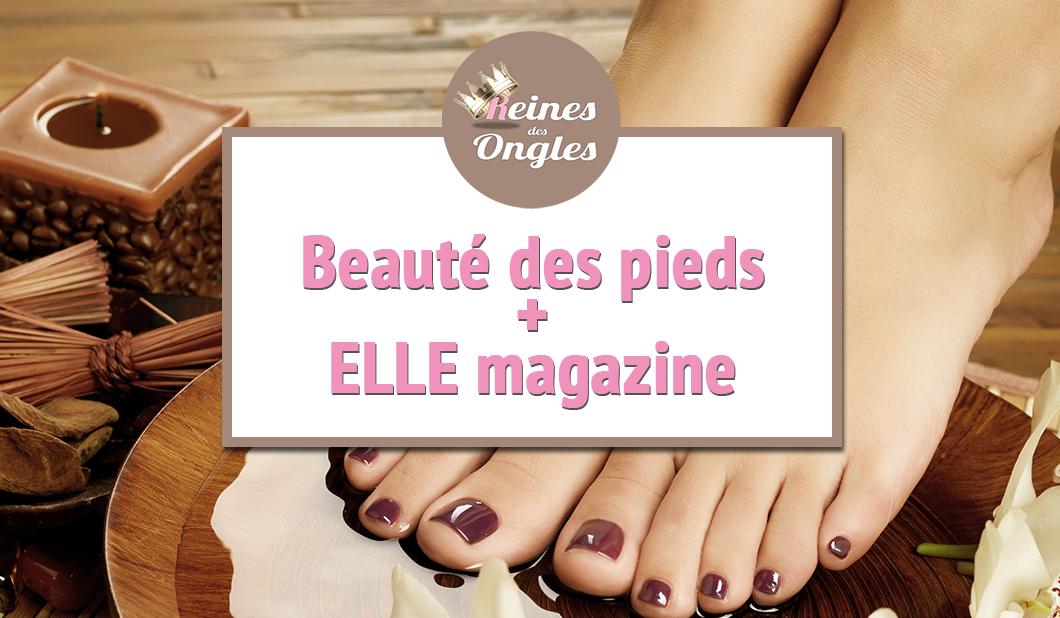 Beauté des pieds + ELLE magazine Lyon