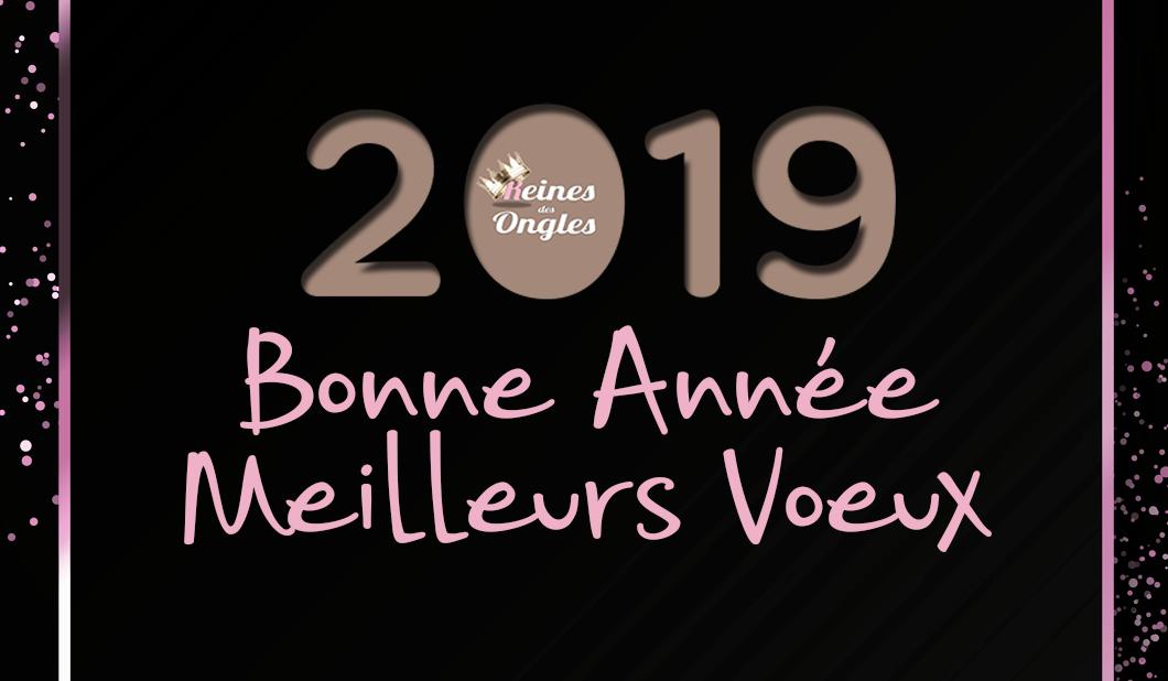 Bonne année, meilleurs voeux 2019