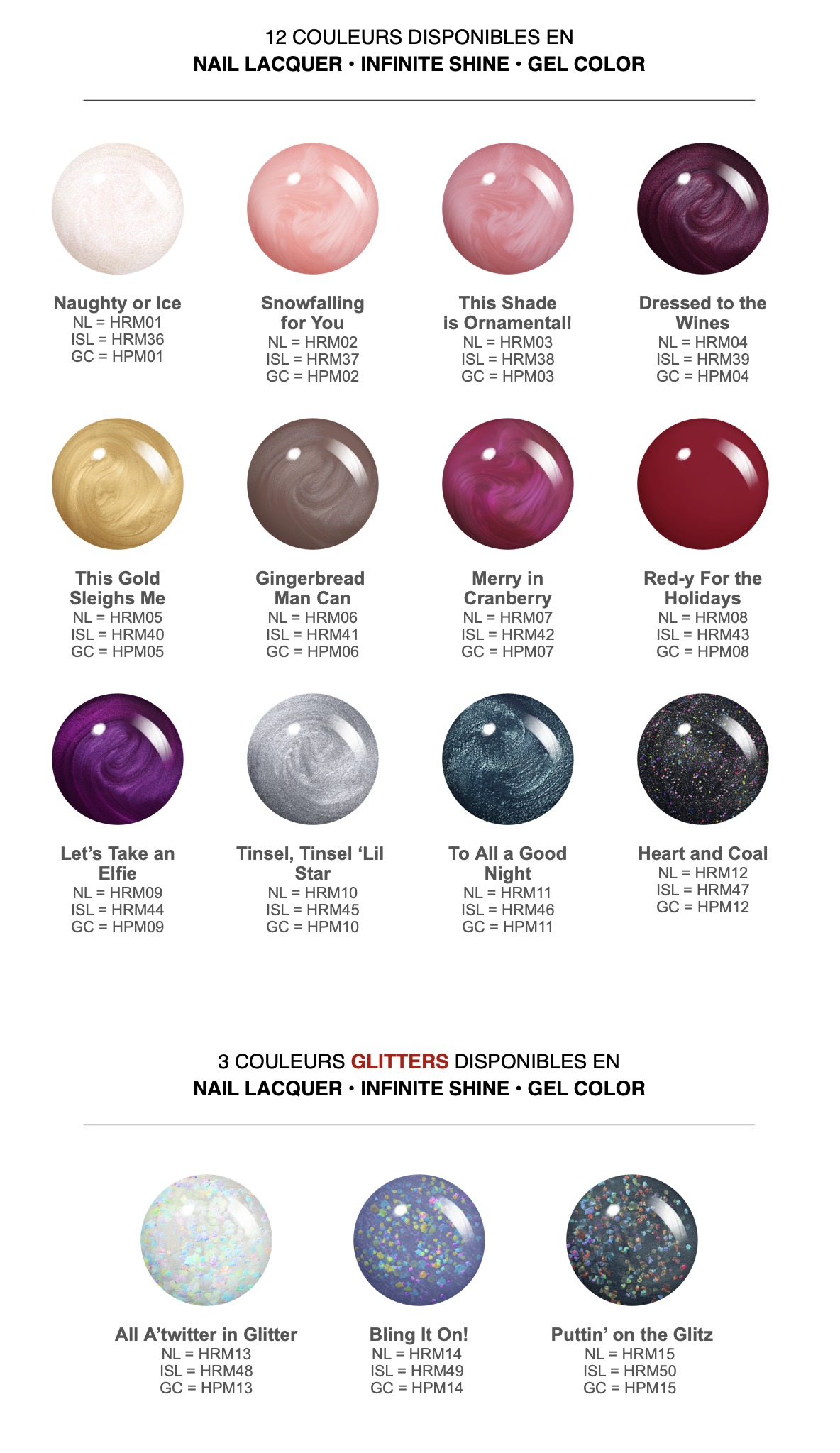 OPI collection shine bright