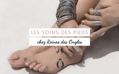 Nos soins des pieds chez Reines des ongles